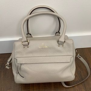 Kate Spade Tan Crossbody Convertible Medium Tote